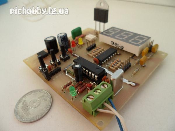 Терморегулятор на микроконтроллере
