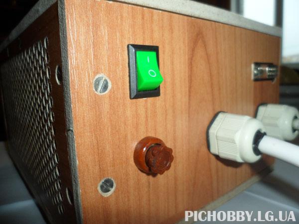 Регулятор мощности на PIC16F886