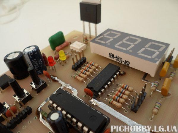 Терморегулятор на PIC16F628A