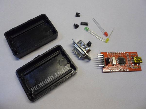 Детали для переходника USB-COM(RS232)