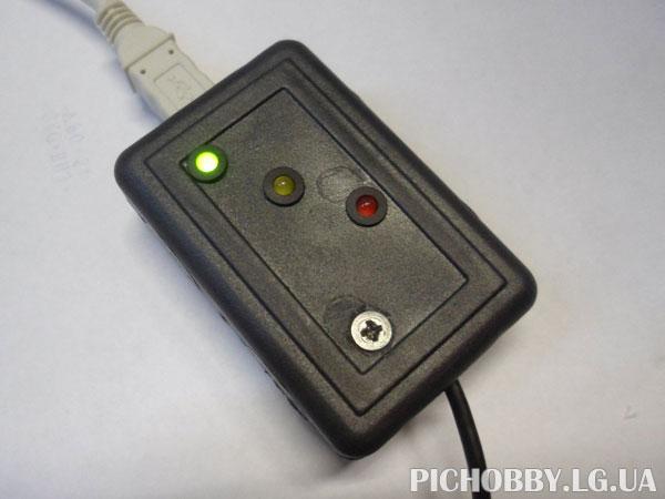 Полностью собранный переходник USB-COM(RS232)